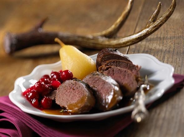 Rehfilet mit Cranberry-Chutney Rezept