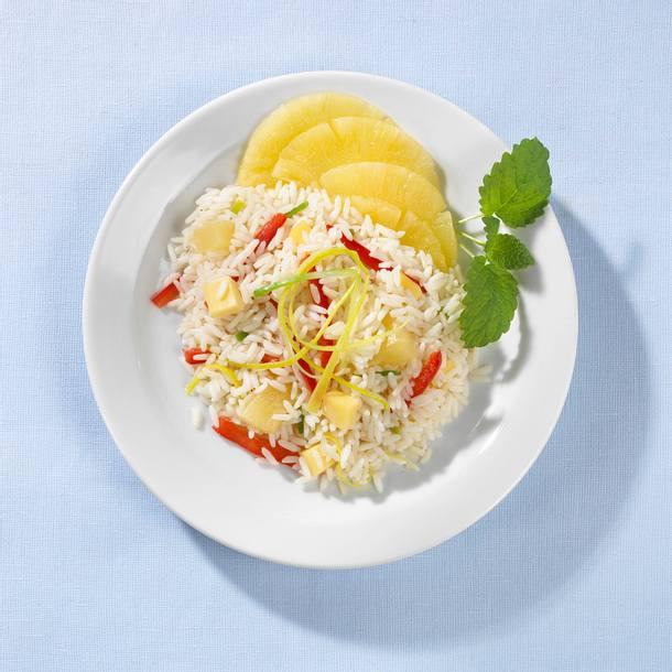 Reis-Käse-Salat Rezept