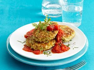 Reisbratlinge mit Tomatensoße Rezept
