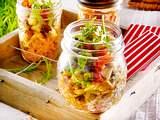 Reisnudel-Salat mit Ofengemüse Rezept