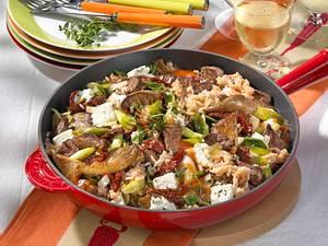 Reispfanne mit Rindfleisch Rezept