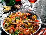 Reispfanne Paella Rezept