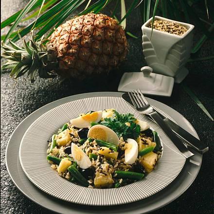 Reissalat mit Ananas Rezept