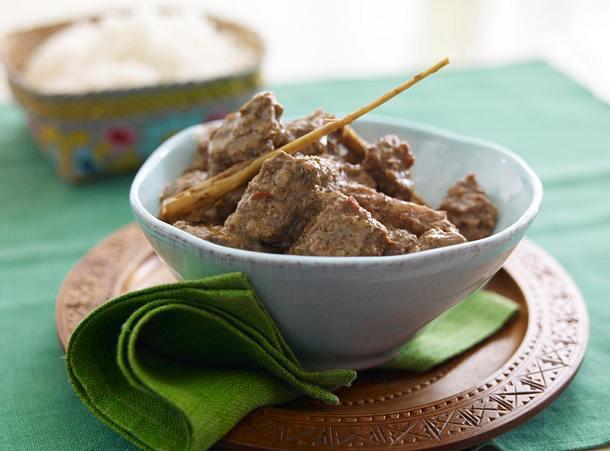 Rendang-Rindfleisch-Curry Rezept