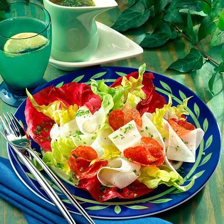 Rettich-Radicchio-Salat Rezept