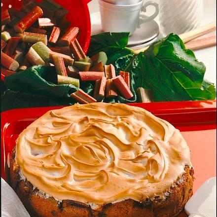 Rhabarber-Baiser-Torte Rezept