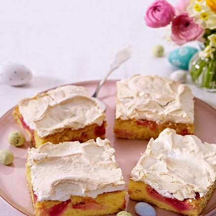 Rhabarber baiserkuchen rezept chefkoch rezepte auf for Kochen rhabarber