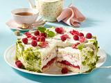 Rhabarber-Himbeer-Torte Rezept