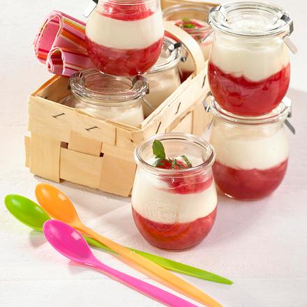 Rhabarber-Joghurt-Mousse Rezept