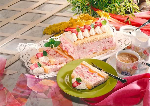 Rhabarber-Kastenkuchen Rezept