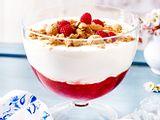 Rhabarber-Quark-Dessert