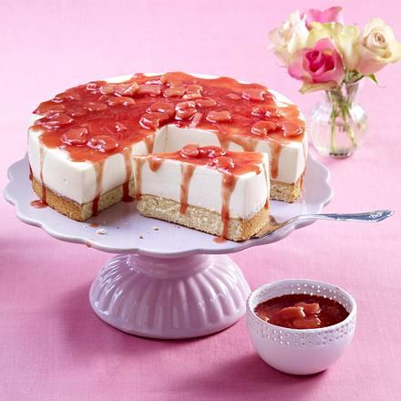 Rhabarber Quark Torte Mit Eierlikor Rezept Lecker