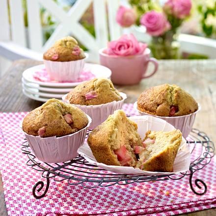 Rhabarber-Zimt-Muffins Rezept