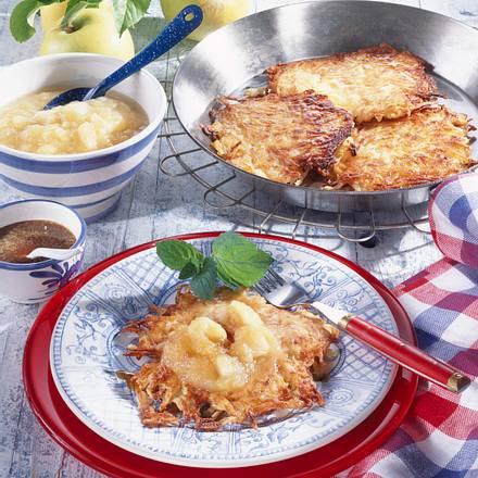 Rheinische Kartoffelpuffer Rezept