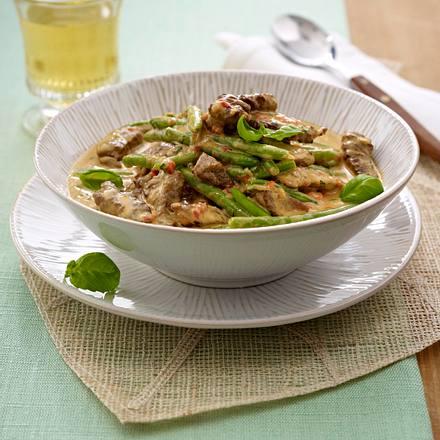 Rinder-Curry in Kokossoße Rezept
