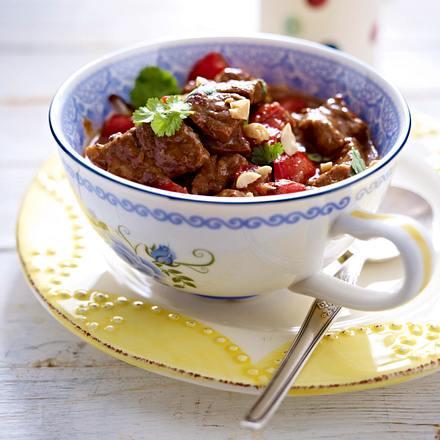 Rinder-Kokos-Curry Rezept