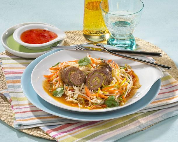 Rinder-Rouladen asiatisch Rezept