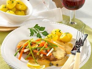 Rindersteak mit Julienne-Gemüse Rezept