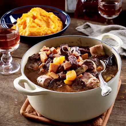 Rindfleisch-Artischocken-Stew Rezept