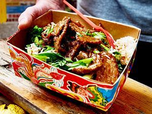 Rindfleisch in Austernsoße Rezept