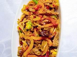 Rindfleischsalat auf asiatische Art Rezept