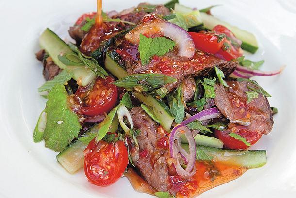 Rindfleischsalat im Thai-Stil Rezept