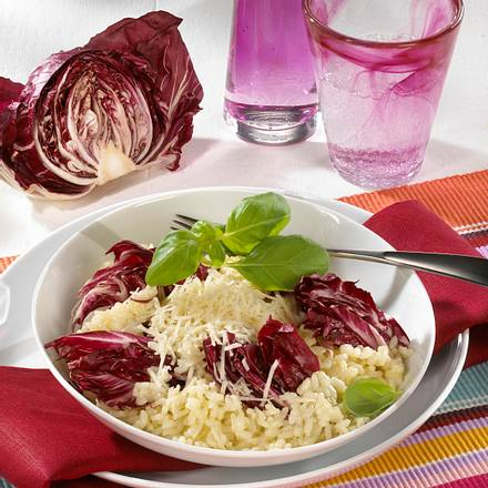 Risotto mit Radicchio und Parmesan Rezept
