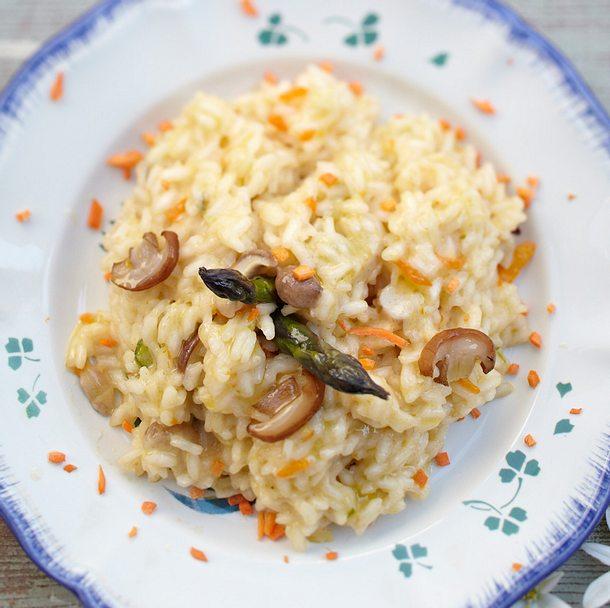 risotto mit steinpilzen m hren und erbsen rezept chefkoch rezepte auf kochen. Black Bedroom Furniture Sets. Home Design Ideas