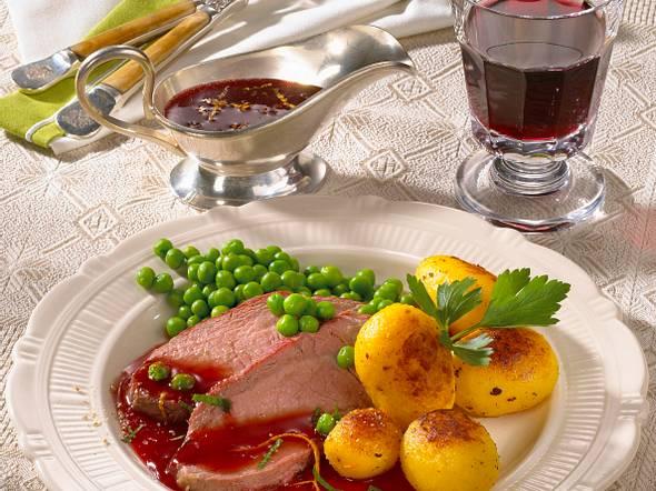 Roastbeef mit Cumberland-Sauce Rezept