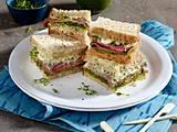 Roastbeef-Sandwich mit Pesto und Kresse Rezept