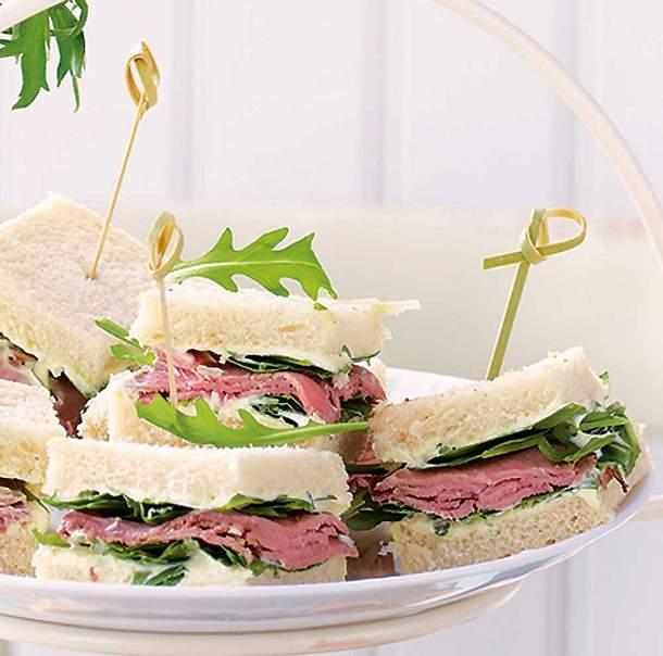 Roastbeef-Sandwiches Rezept