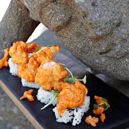 Rockshrimp Tempura Roll Rezept