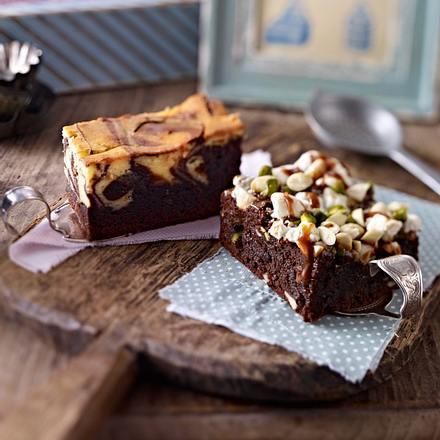 Rocky Nuts-Brownies Rezept