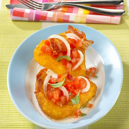 Rösti mit Tomatensalat Rezept