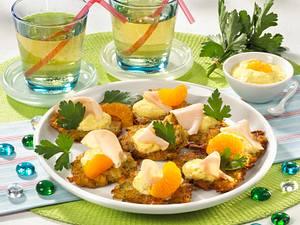 Röstitaler mit Currycreme Rezept