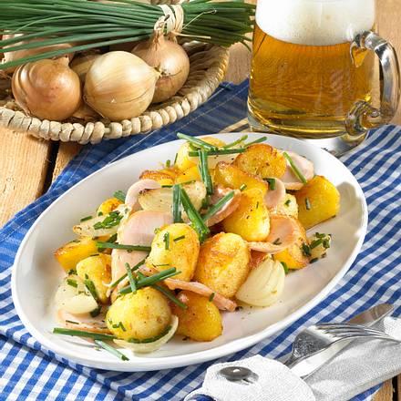 Röstkartoffeln mit Putenbrust Rezept