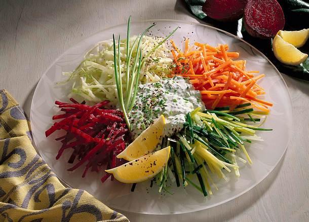 Rohkost-Salat Rezept