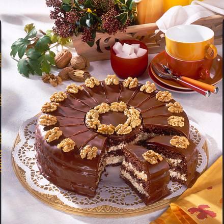 Rokoko-Nuss-Torte Rezept