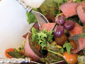 Rooibostee-geräucherter Springboksalat Rezept
