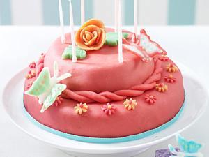 Rosa Zitronentorte (Geburtstagstorte für die beste Freundin) Rezept