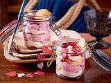 Rosarotes Himbeertiramisu Rezept