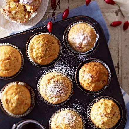 Rosehip Muffins Rezept
