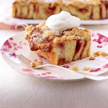 Rosen-Streuselkuchen Rezept