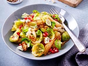 Rosenkohl-Birnen-Salat (Rosenkohl 4-mal anders) Rezept