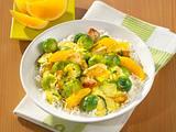 Rosenkohl-Curry mit Putenbrust Rezept