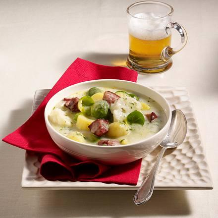 Rosenkohl-Eintopf mit Kasseler Rezept