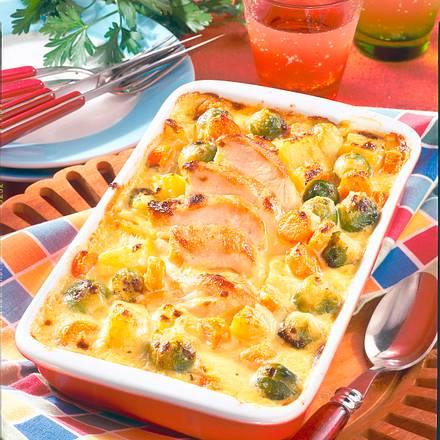 Rosenkohl in Käsesoße Rezept
