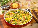 Rosenkohl-Kartoffel-Gratin mit Kasseler Rezept