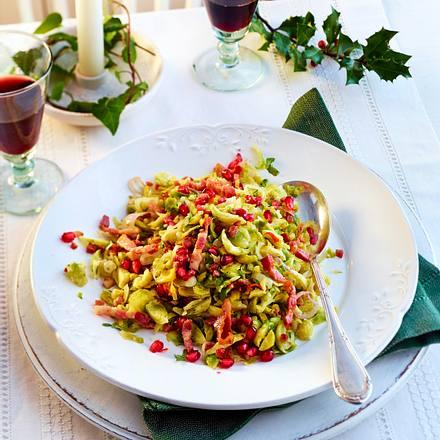 Rosenkohl mit Chili und Knoblauch Rezept