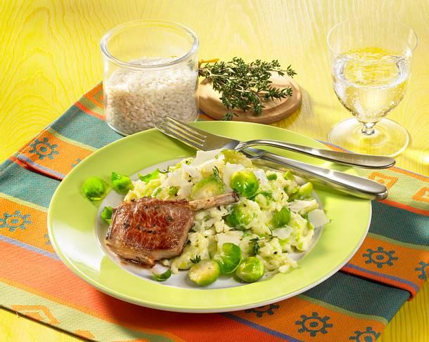 rosenkohl risotto rezept chefkoch rezepte auf kochen backen und schnelle gerichte. Black Bedroom Furniture Sets. Home Design Ideas